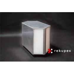 Rekuperační výměník tepla RSX-P 06/300 (protiproudý teplovzdušný rekuperátor pro rekuperace vzduchu)