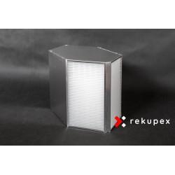 Rekuperační výměník tepla RX-P 04/500 (protiproudý teplovzdušný rekuperátor pro rekuperace vzduchu)