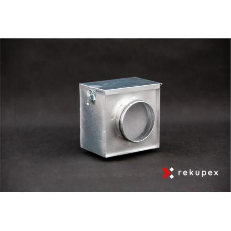 Filtrační box 125 mm (filtrační kazeta)