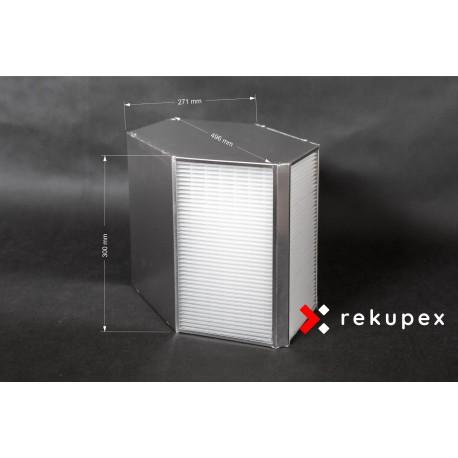 Rekuperační výměník tepla RX-P 04/300 (protiproudý teplovzdušný rekuperátor pro rekuperace vzduchu)