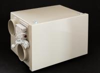 Rekuperační jednotka s protiproudým výměníkem a ionizátorem vzduchu