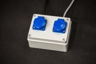 Rozvodka na by-pass a ionizátor