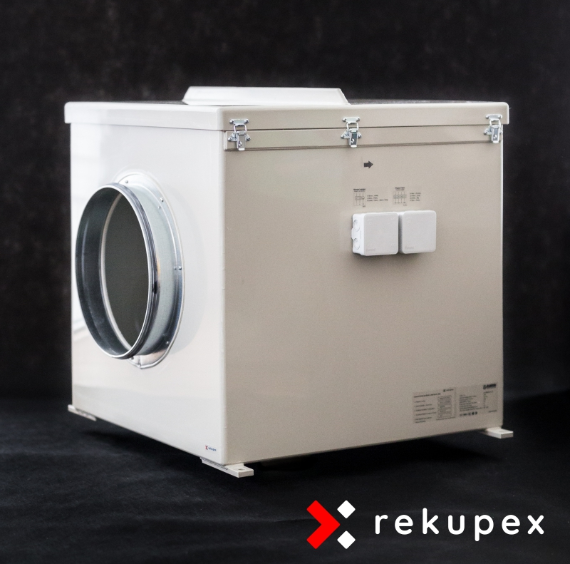 Potrubní EC ventilátor Blauberg EC-4040 m3/h